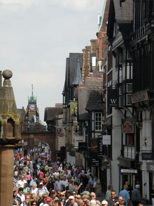 Chester Rows-Eastgate Street