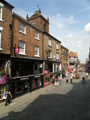 Chester Rows-Watergate Street