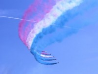 The Red Arrows at Southport